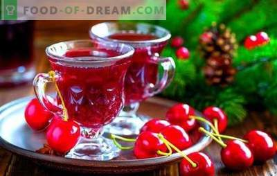 Licor de cereza: ¡colores brillantes del verano en un vaso! Recetas de licor de cerezas: tres formas de hacer: el arte de los magos del hogar