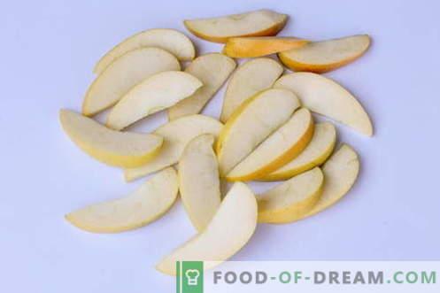 Postre - puffs con manzanas. Barato y muy sabroso!