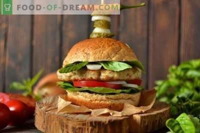 La hamburguesa perfecta - Cómo hacer chuletas de hamburguesa