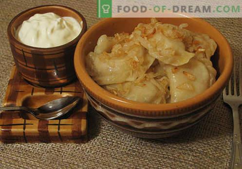 Las albóndigas choux son las mejores recetas. Cómo hacer correctamente y sabroso empanadillas de natillas cocidas en casa.