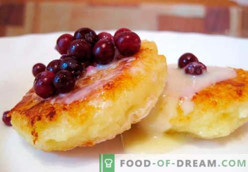 Cheesecakes clásicos - las mejores recetas. Cómo cocinar de forma rápida y sabrosa las tartas de queso clásicas.