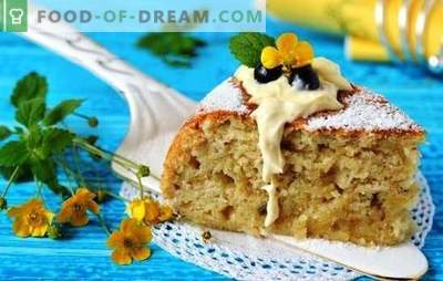 Pastel de plátano en un multicooker: ¡un sabor exótico! Recetas y sutilezas de cocinar pasteles de plátano en una olla de cocción lenta
