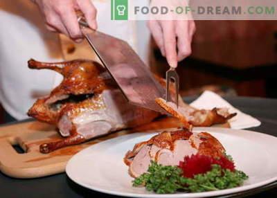 Pato de Pekín - las mejores recetas. Cómo cocinar correctamente y sabroso pato de Pekín.