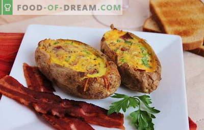 Patata francesa con carne picada en el horno - ¡en París, esto no se come! Recetas de papas francesas con carne picada en el horno al estilo ruso