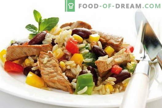 Arroz con carne - las mejores recetas. Cómo cocinar correctamente y sabroso el arroz con carne.
