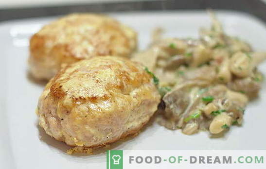 Recetas tradicionales e inusuales para chuletas de cerdo picadas. Qué sabroso cocinar albóndigas de carne de cerdo picada para toda la familia