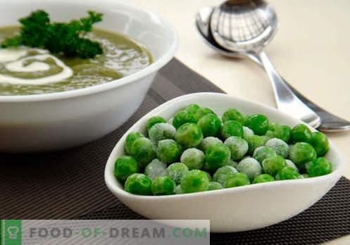 Sopa con guisantes verdes - recetas probadas. Cómo cocinar correctamente y sabrosa la sopa con guisantes verdes.