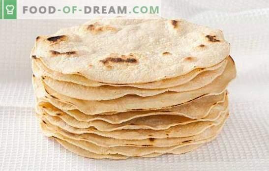 es un plato apetitoso para todos los días. Variantes de cocinar tortillas con queso, nueces, miel y especias