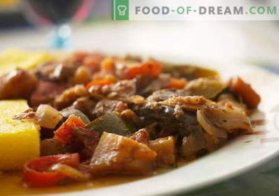 Berenjenas con carne - las mejores recetas. Cómo cocinar correctamente y sabroso la berenjena con carne.