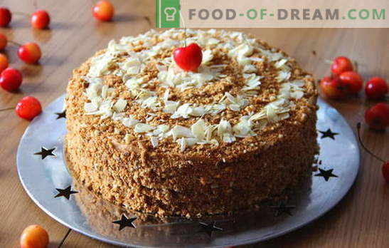 Pastel de miel con leche condensada: un postre para cualquier ocasión. Cómo hornear un delicioso pastel de miel con leche condensada: recetas para principiantes