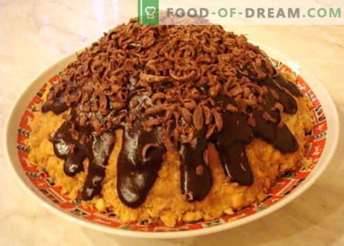 Cake Anthill - las mejores recetas. Cómo cocinar correctamente y sabroso pastel de hormiguero.