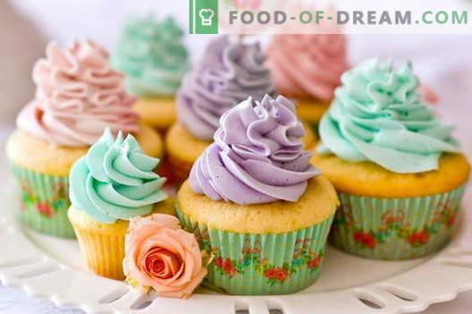 Cupcakes - cómo cocinarlos en casa. 7 mejores recetas de cupcakes caseros.