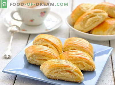 Puff buns - the best recipes. How to properly and tasty cook puff buns at home