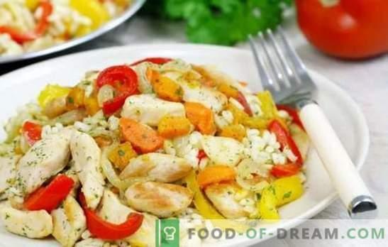 Receta de pollo con arroz: paso a paso. Consejos, secretos, trucos y recetas paso a paso para cocinar pollo con arroz