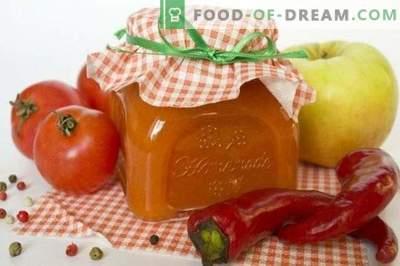 Salsa de tomate picante con Antonov