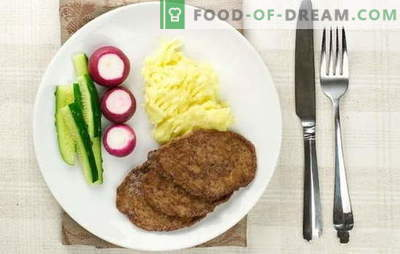 Chicken liver cutlets - they are the most tender! Cooking chicken liver cutlets with semolina, flour, bread, vegetables, rice, mushrooms