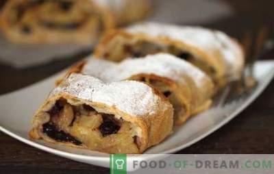 Les pâtisseries de carême pour le thé - nous gardons le jeûne avec goût. Recettes intéressantes pour les pâtisseries de lentilles: gâteaux sucrés, biscuits croquants, rouleau de graines de pavot