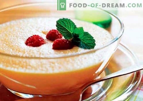 Puré de frutas - las mejores recetas. Cómo preparar correctamente y sabroso el puré de frutas.
