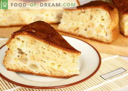 Pie en kéfir - las mejores recetas. Cómo cocinar adecuadamente y deliciosamente un pastel en kéfir.
