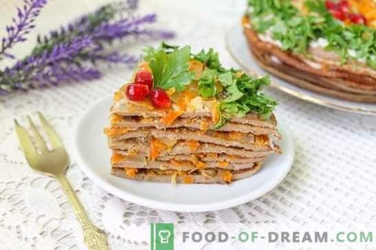 Pastel de hígado de hígado de pollo (foto-receta): ¡el secreto de la jugosidad! Paso a paso cocinar pastel de hígado de pollo con fotos