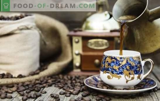 Café en el turco en casa - preparando una bebida de exquisito sabor. ¿Cuál es la mejor manera de hacer café turco en casa?