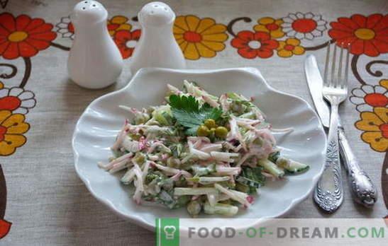 Conoce: deliciosas y sencillas ensaladas a toda prisa! Recetas de ensaladas sencillas para días laborables y festivos