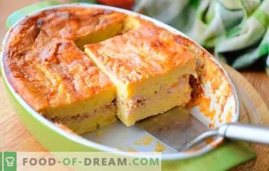 Cazuela de patatas con carne picada: un plato sencillo de los productos disponibles. Cazuela De Patata Con Carne Picada Y Verduras