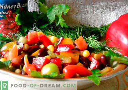 Ensalada mexicana - las mejores recetas. Cómo cocinar adecuadamente y sabrosa ensalada mexicana.