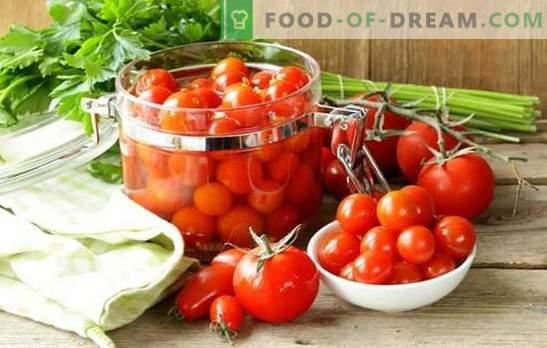 Preparar tomates para el invierno sin cocinar, ¿es difícil? Las mejores recetas de deliciosos tomates para el invierno sin cocinar.