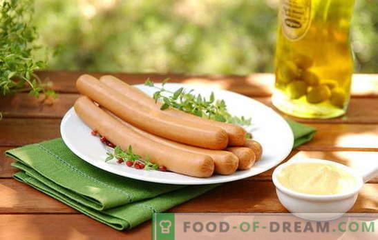 Cómo cocinar salchichas de varias maneras: ¡muchas opciones! Cómo cocinar salchichas para una pareja, en el microondas y en la olla de cocción lenta