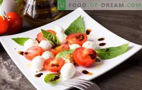 Aperitivos italianos - el mundo de combinaciones armoniosas. Recetas de aperitivos italianos simples y deliciosos de queso, berenjena, tomate, carne y pollo