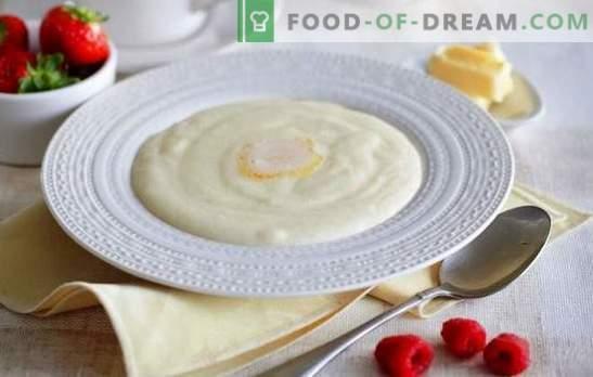 Gachas de sémola con leche - ¡buenos días! Cómo cocinar sémola en leche, para que la papilla quede sabrosa y sin grumos