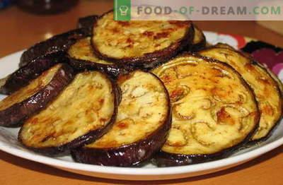 Berenjenas con ajo - las mejores recetas. Cómo cocinar correctamente y sabroso la berenjena con ajo.