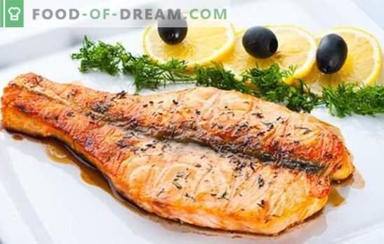¿Probas salmón rosado (en la sartén)? No? Las mejores recetas de salmón rosado, fritas en una sartén: con champiñones, bajo la marinada, con verduras