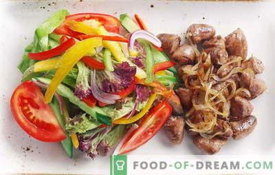 Vistas sirdis ar sīpoliem - ikdienas delikatesi! Receptes ceptām, sautētām, ceptām sirdīm ar sīpoliem, burkāniem