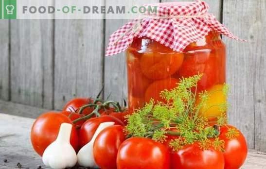 Los tomates en los bancos para el invierno: ¡un indicador de la economía femenina! Recetas de tomates en bancos para el invierno