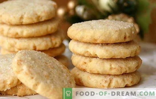Galletas con crema agria: ¡las delicias caseras estarán encantadas! Recetas sencillas de crema agria con galletas de cacao, pasas, nueces, requesón, leche condensada