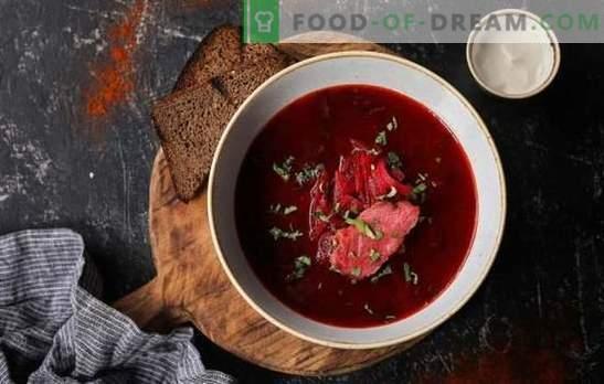 Errores comunes al cocinar borscht