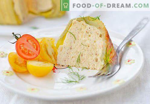 Souffle para un niño - las mejores recetas. Cómo cocinar rápida y sabrosamente el souffle para un niño.