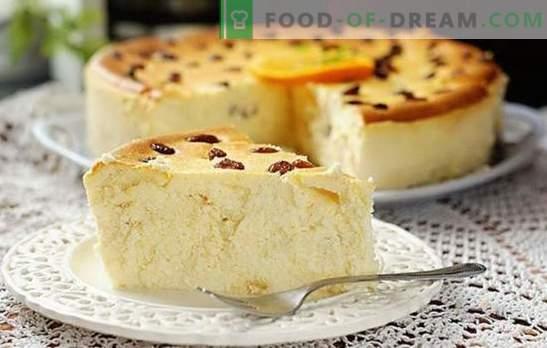 Cacerola de requesón dietético: ¡no hay ningún otro lugar más útil! TOP-12 recetas para cocinar cazuela de cuajada dietética baja en calorías