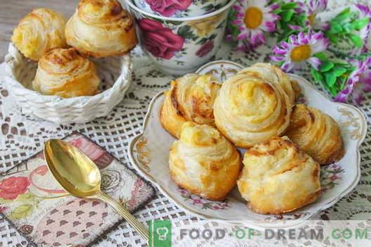 Bollos franceses de natillas: disfrute del encanto culinario de Francia