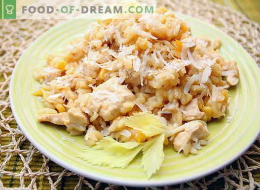 Risotto de pollo - las mejores recetas. Cómo cocinar adecuadamente y sabroso el risotto con pollo.