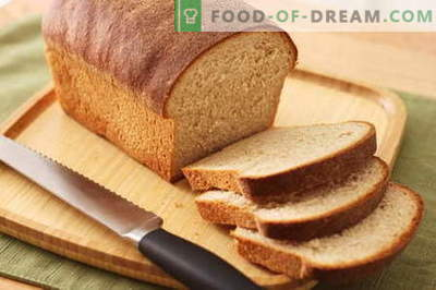 Pan en una panificadora - las mejores recetas. Cómo hornear pan en casa.
