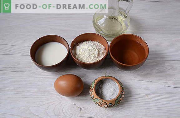 Masa para raviolis con leche: cómo amasar, ¿qué tipo de harina elegir? Consejos para hacer masa para raviolis con leche: fotos paso a paso