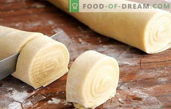 ¡Una buena masa para samsa es la base de un resultado increíble! Preparamos la masa real para samsa con cola gruesa, en kéfir, leche, agua
