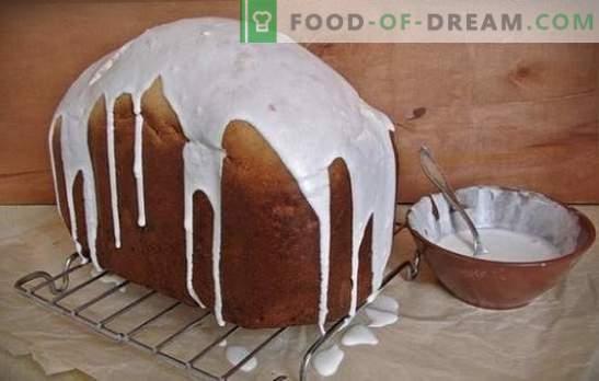 Pastel de Pascua en la panificadora - ¡siempre funciona! Cómo cocinar un pastel exuberante en la panificadora: recetas con frutas secas, cítricos, miel