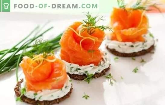 Recetas para deliciosos aperitivos fríos de comidas simples. De arenque o hígado: deliciosos bocadillos fríos a cualquier mesa