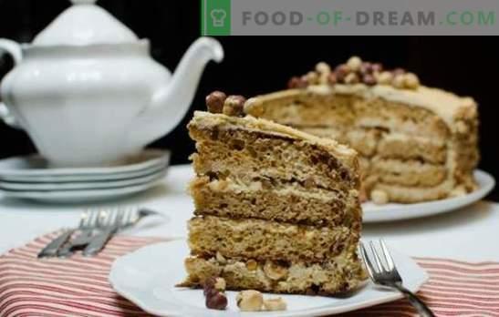 Golden Key cake: ¡un delicado sabor cremoso! Haciendo un pastel