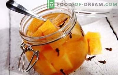 Melón encurtido - experimentos inesperados con gustos. Las mejores recetas para el melón en escabeche: con miel, cereza, jengibre