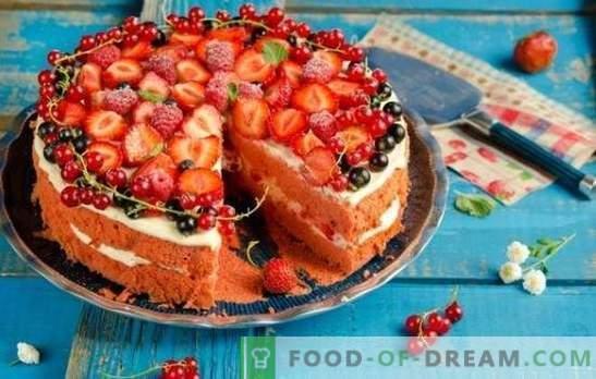 No te niegues el placer: ¡prepara un bizcocho con fresas! Recetas sencillas para bizcocho con fresas para té y café